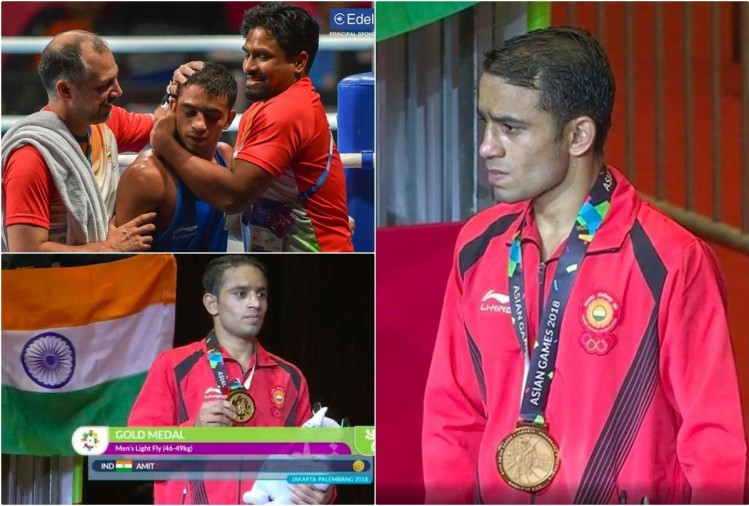 Asian Games 2018: Amit Panghal wins stunning boxing gold after beating reigning Olympic champio