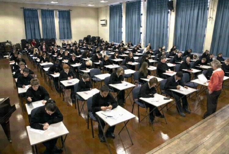 'Cheating' case caught in the English language exam in UK