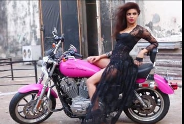 priyanka with harley