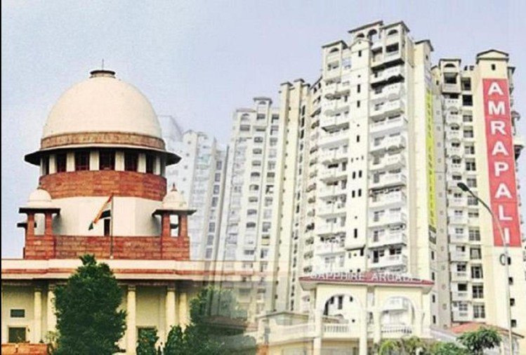 Supreme Court given Instructions to auction attached property of Amrapali Group