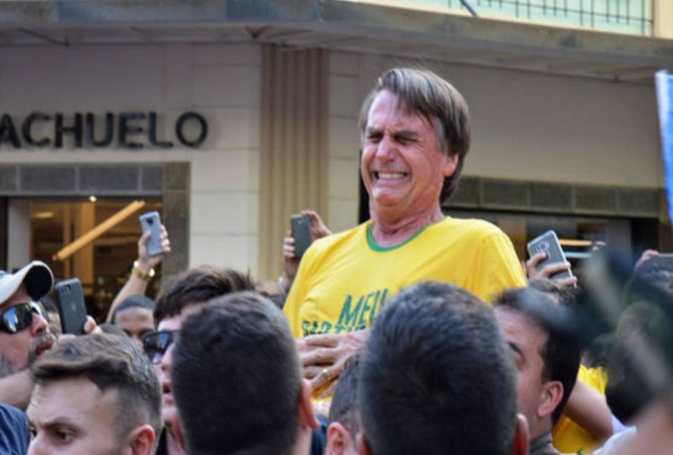 Brazil: attacked on Presidential candidate Bolesonaro, severely injured