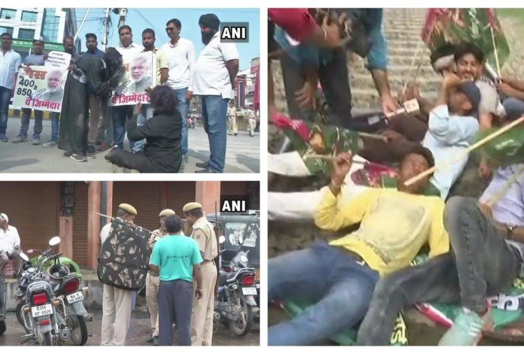 Watch through pictures, opposition calls bharat band over petrol diesel prices