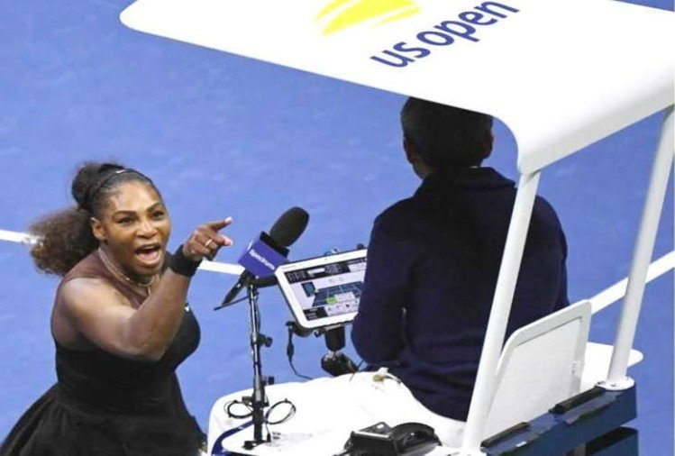 US Open final: Serena Williams fined USD 17000 for rule violations