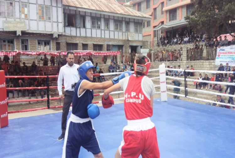 Inter-College Women's boxing competition commenced in Kinnaur