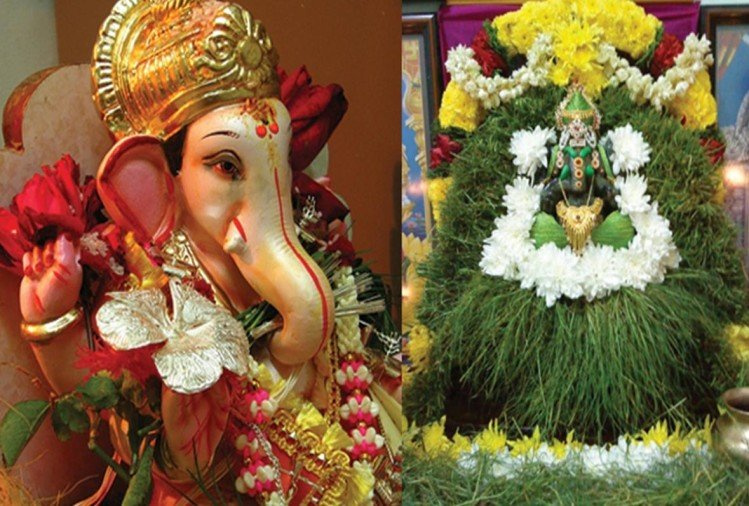 ganesh chaturthi 2018 story always offer durva grass in ganesh puja but never use tulsi leaf