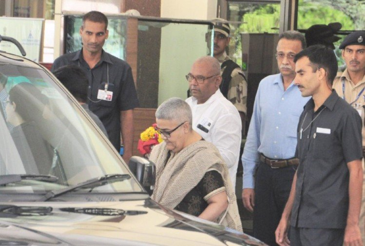 atal Bihari Vajpayee's adopted daughter Namita Bhattacharya in manali