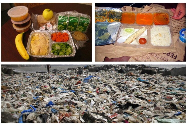 Home delivered meals creates 22 thousand tonnes of plastic waste every month
