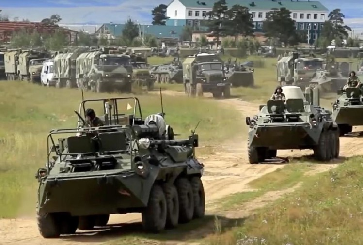 russia china war games 2018