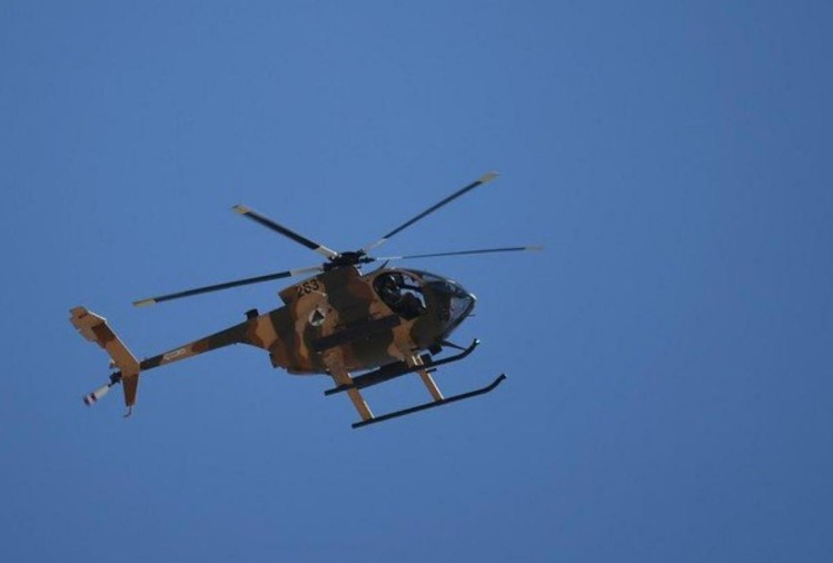 4 killed in Afghanistan after military chopper catches fire