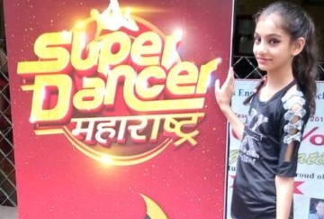 Shagun Banta in Sony TV Dance show Super Dancer