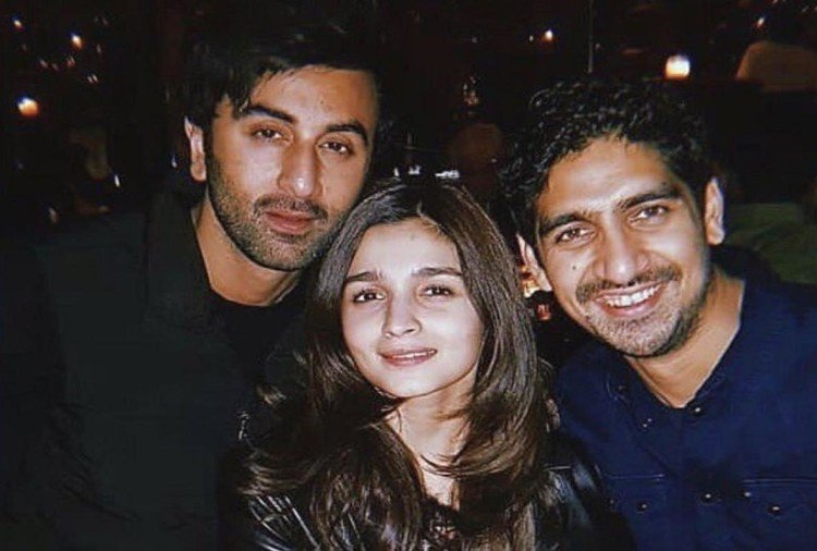 Ranbir Kapoor And Alia Bhatt Celebrate Wrap Up party of Brahmastra