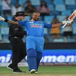 शिखर के शतक से टीम इंडिया का विजयी आगाज, पहले मैच में हांगकांग को 26 रन से हराया