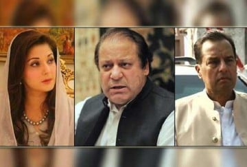 Islamabad HC suspend sentences to Nawaz Sharif, Maryam Nawaz