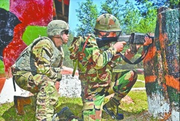 India US anti terror joint military exercises