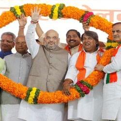 राजस्थान में अमित शाह का कांग्रेस पर हमला, कहा- न नीति है, न नेता
