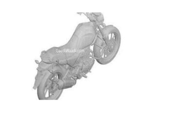 Hero 200cc bike patent design leaked
