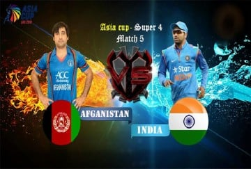 Asia Cup 2018: India vs Afghanisrtran When, Where and How to watch live streaming on net