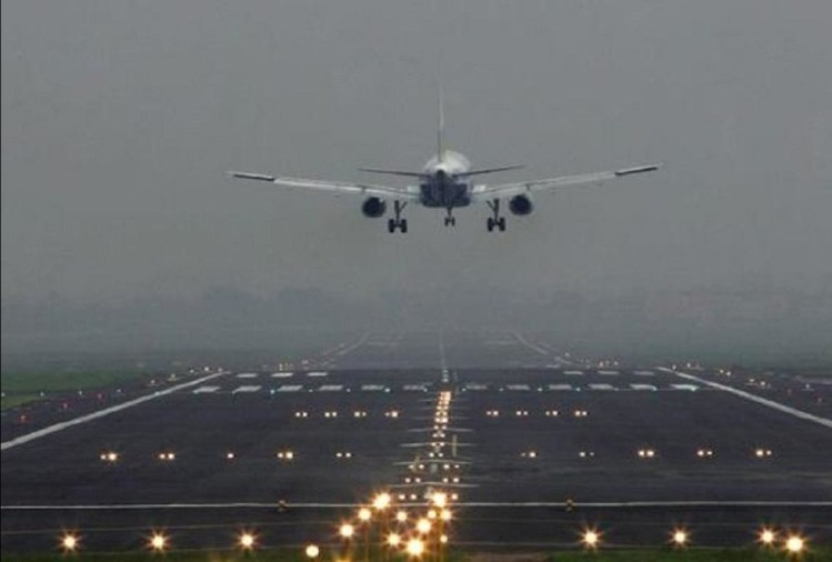 Rajasthan: 16 aircraft were sent to Jaipur due to bad weather in Delhi