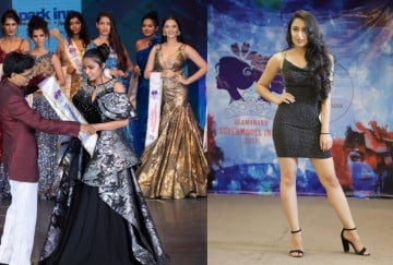 Vaishnavi chauhan wins Miss photogenic award