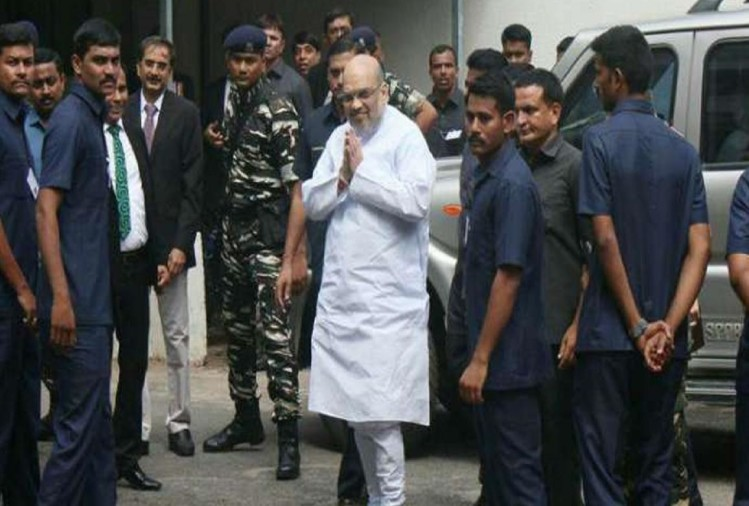 Image result for home minister amit shah security