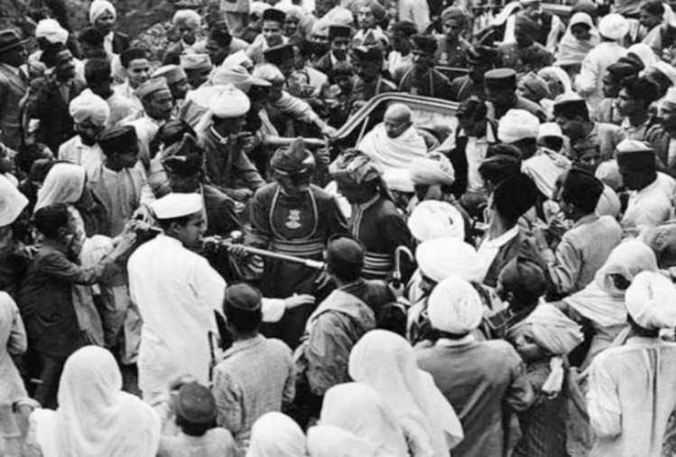 rare pics and memories regarding mahatma gandhi visit to shimla himachal