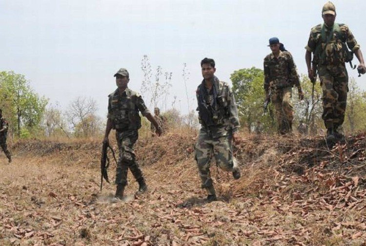 Three Naxalites were killed and one arrested in Sukma district of Chhattisgarh