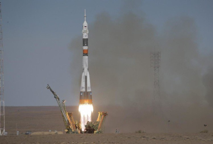 A Russian Soyuz spacecraft lunching failure all astronauts safe