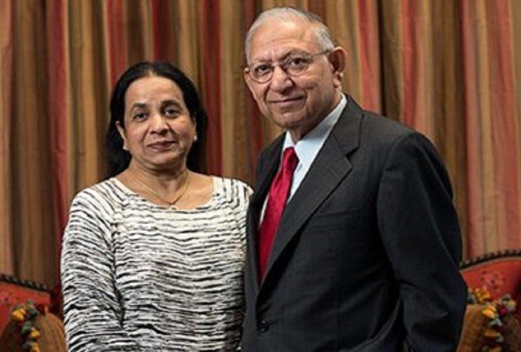 American university building will be named after the couple of Indian origin