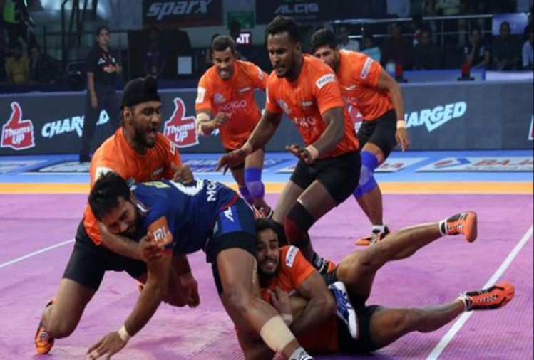 pro kabaddi league: U Mumba beats Haryana Steelers