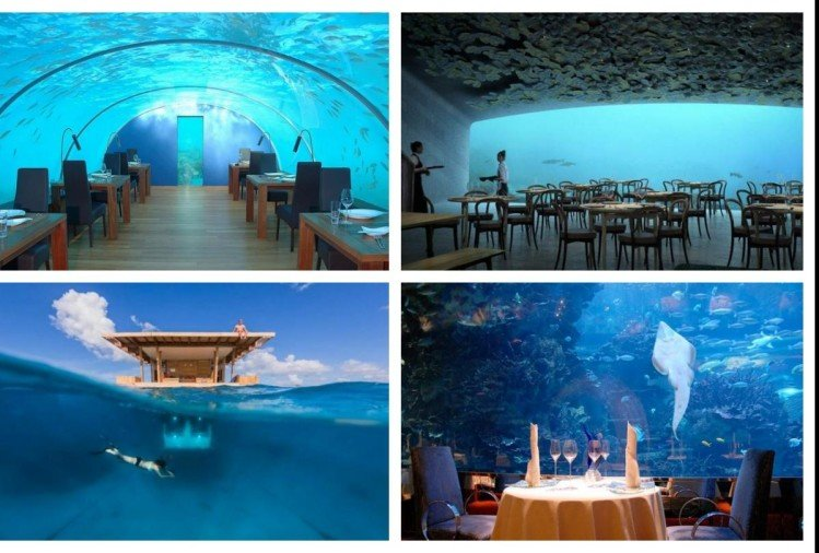 Underwater hotels in world