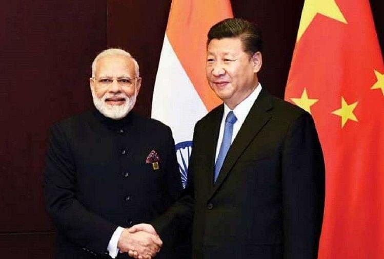 प्रधानमंत्री नरेंद्र मोदी-चीनी राष्ट्रपति शी जिनपिंग