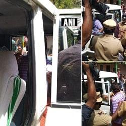 सबरीमाला मंदिर LIVE: लाठीचार्ज के बीच खुले कपाट, कई पुलिसकर्मी और प्रदर्शनकारी घायल