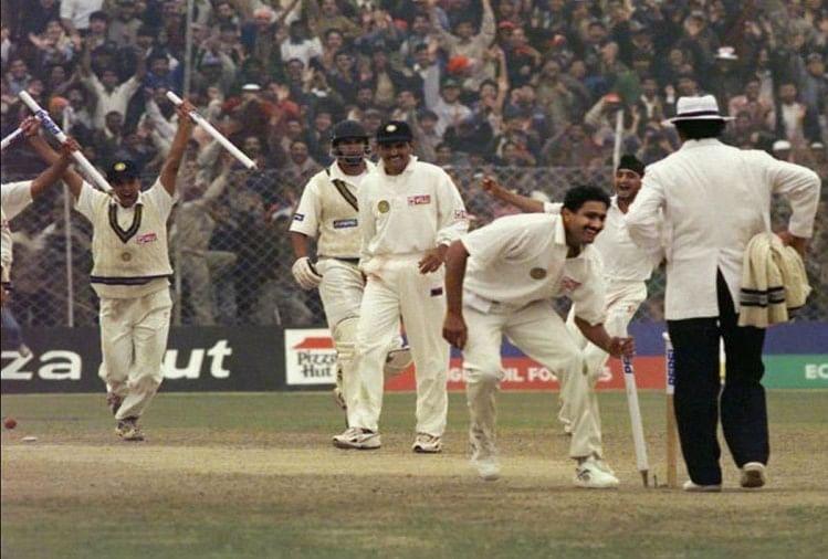 पूरे 10 विकेट लेने के दौरान कुंबले