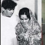 Shammi Kapoor and Neila Devi