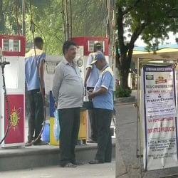 दिल्ली में आज पेट्रोल पंप ही नहीं टैक्सी डीटीसी की भी हड़ताल, केजरीवाल का आरोप- ये बीजेपी प्रायोजित