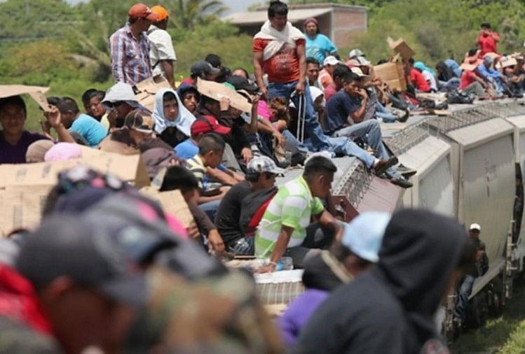 Image result for हजारों शरणार्थी अमेरिका मेंगैरकानूनीतरीके से घुसने का कर रहे प्रयास