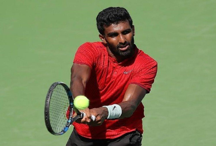Prajnesh Gunneswaran reaches all time best ranking of carrier