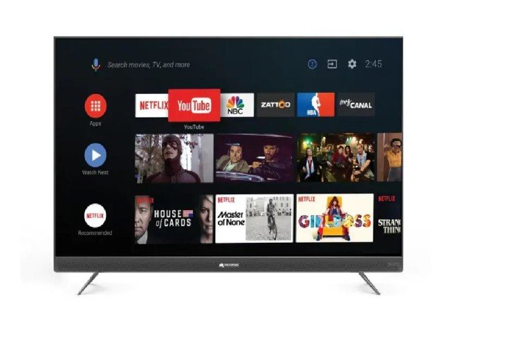 micromax smart tv