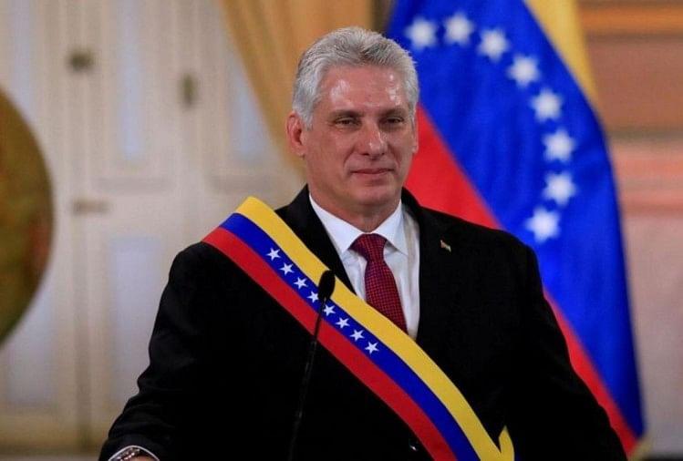 क्यूबा के राष्ट्रपति मिगुएल डियाज-केनल