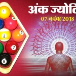 Ank Jyotish: numerology astrology 7th november 2018