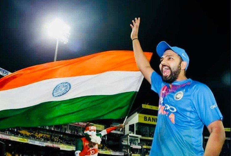 Rohit Sharma smashes hundred and become first Indian to score fourth T20 century