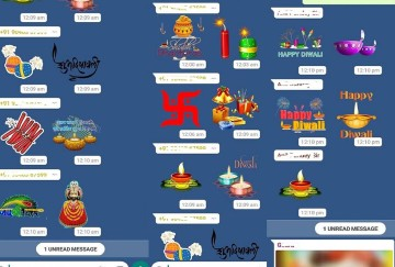 Diwali Stickers for WhatsApp, WAStickerApps