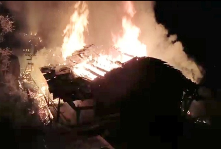 heavy losses to property in Himachal due to fire on Diwali