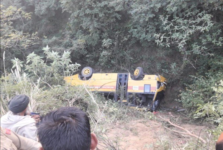 punjab private bus accident in una himachal