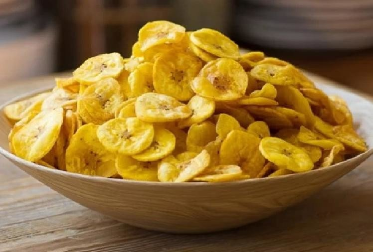 prepare banana chips at home within five minutes
