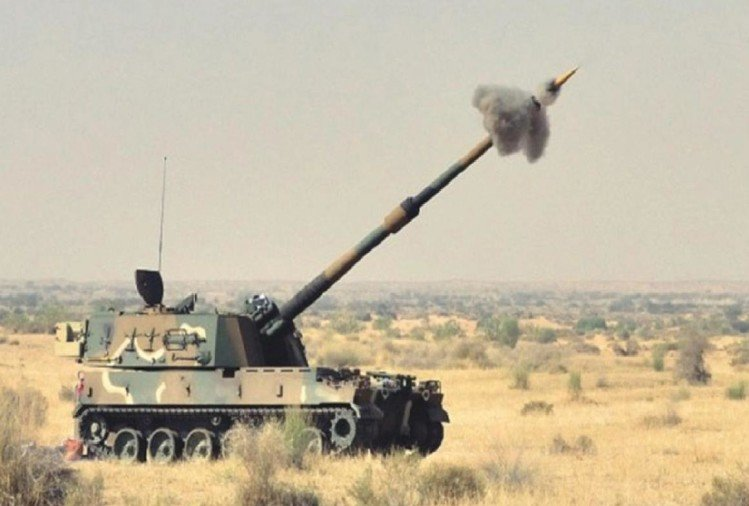 Today the Indian Army will join the M-777 and K-9 Artillery guns