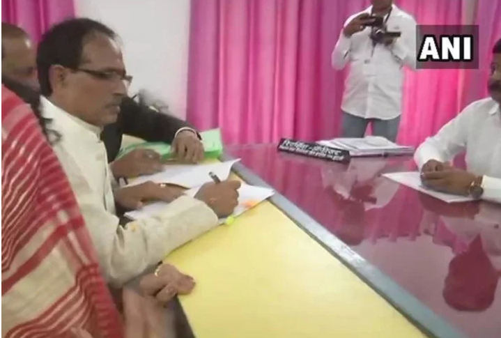 shivraj nomination