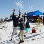 Kufri Shimla receives season first snowfall manali himachal pradesh