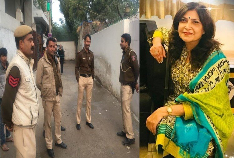 Mala Lakhani Fashion Designer And Her Servant Found Murdered At Vasant Kunj Delhi द ल ल वस त क ज म 53 वर ष य फ शन ड ज इनर और उसक सह यक क हत य आर प दर ज न कब ल ज र म