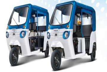 Treo electric three wheeler